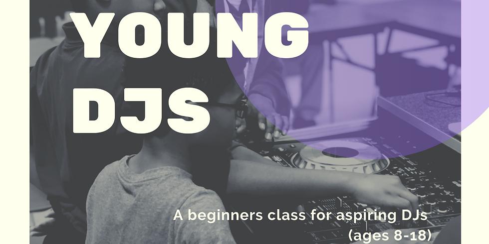 Grow Young DJ's: Youth DJ Class w/DJ Cordney Smith