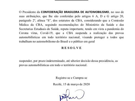 Comunicado CBA | COVID-19