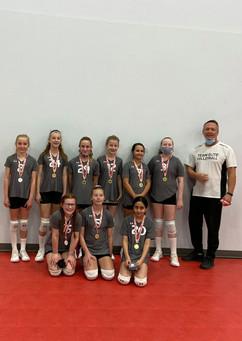 12U Vicha team 2nd place GOLD