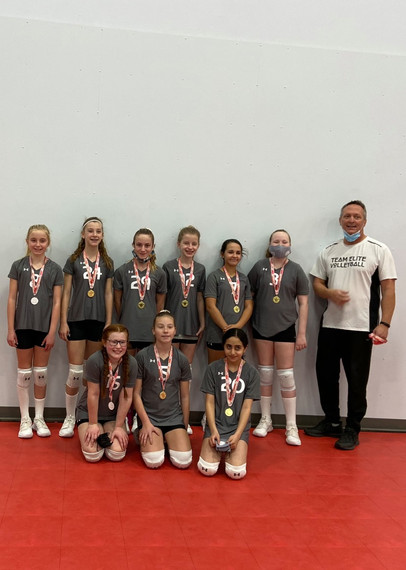 12U Vicha team 2nd place GOLD