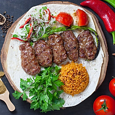 GRILLED TURKISH MEATBALLS/KOFTE