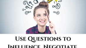 How to Use Questions to Influence, Negotiate, Pitch & Coach
