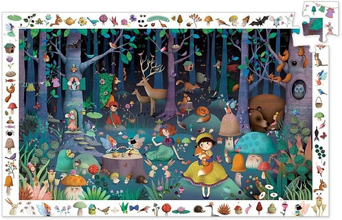 Observation Puzzle: Enchanted Forest