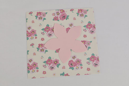 Boîte créative ANNA DIY fleurs en papier motif fleurs