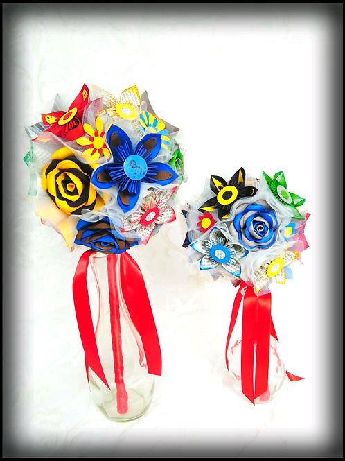 Bouquet de mariage Fleurigami style Harry Potter