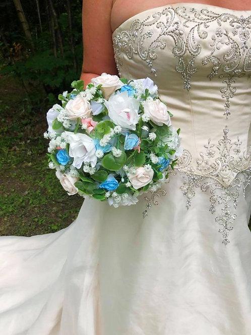 Bouquet en papier crépon
