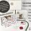 Thumbnail: Boîte créative ANNA DIY fleurs en papier motif fleurs