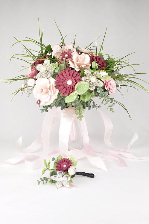 Bouquet Fleurs Fleurigami
