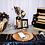 Thumbnail: Bouquet noir et or en papier