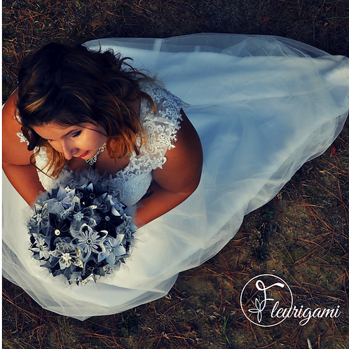 Bouquet de mariage Fleurigami