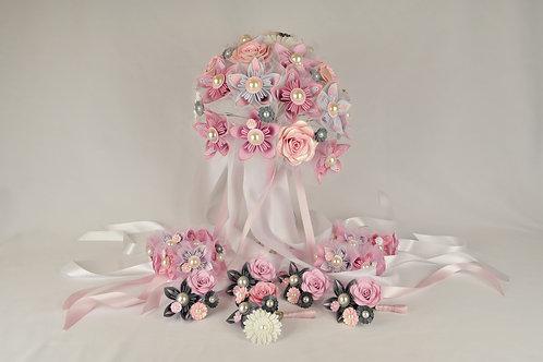 Bouquet mariage bohème et champêtre