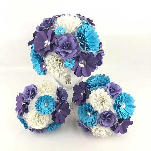 Bouquets de mariage Fleurigami