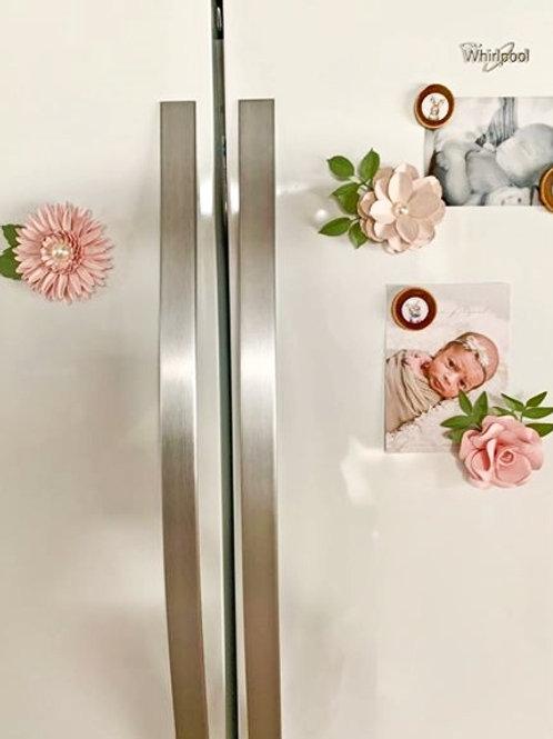 24,50$ / 3 Fleurs aimants à Frigo Fleurigami