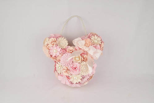 Bouquet sacoche en forme de Mickey Mouse