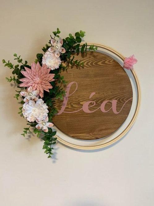 Cerceau floral Fleurigami
