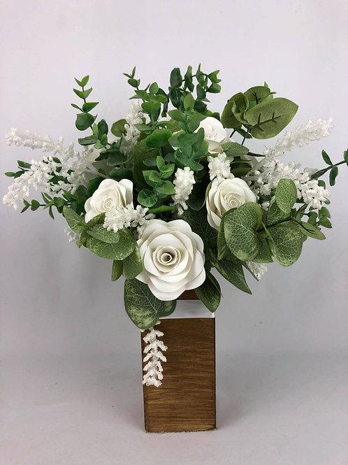 Bouquet de fleurs en papier