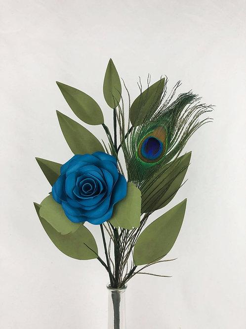 BLEUE - Rose éternelle Bleue