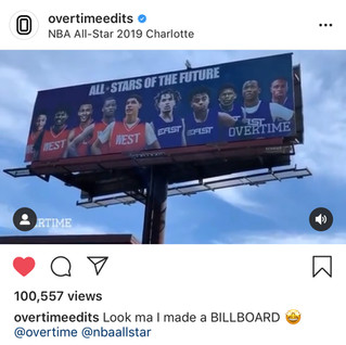 Overtime Edits (Billboard Work)
