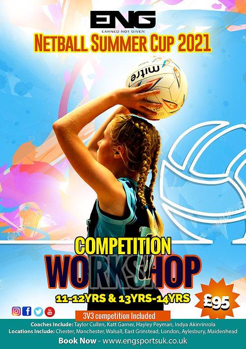 ENG Netball Summer Cup 2021 - U13 & U14