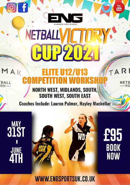 ENG Netball Victory Cup 2021