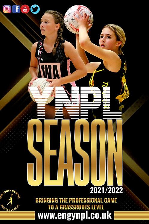 ENG U12 YNPL South - Spectator Ticket (Both Games)