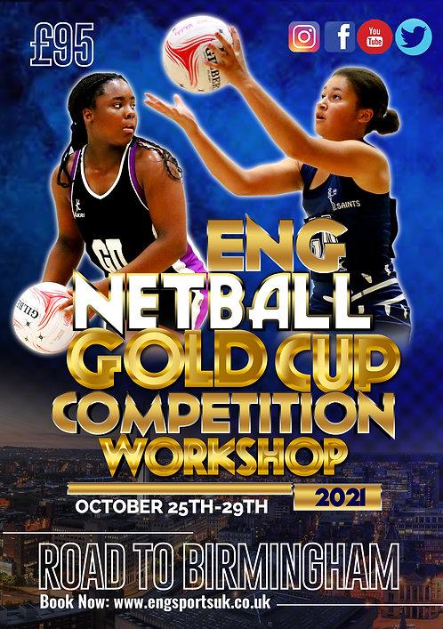 ENG U13-U14 Netball Gold Cup 2021