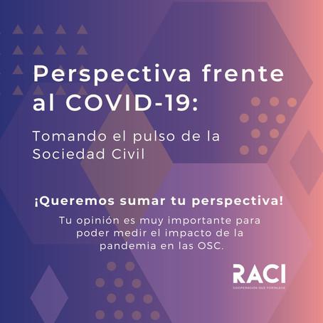 Perspectiva frente al COVID-19: Tomando el pulso de la Sociedad Civil