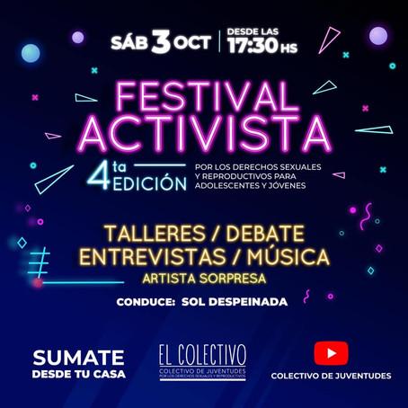 Se viene la cuarta edición del Festival Activista