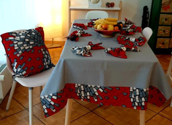 Nappe de table entière pour 8 pax