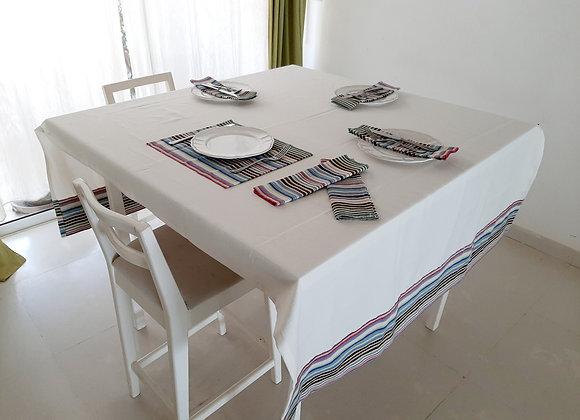 Nappe de table pour 6 pax