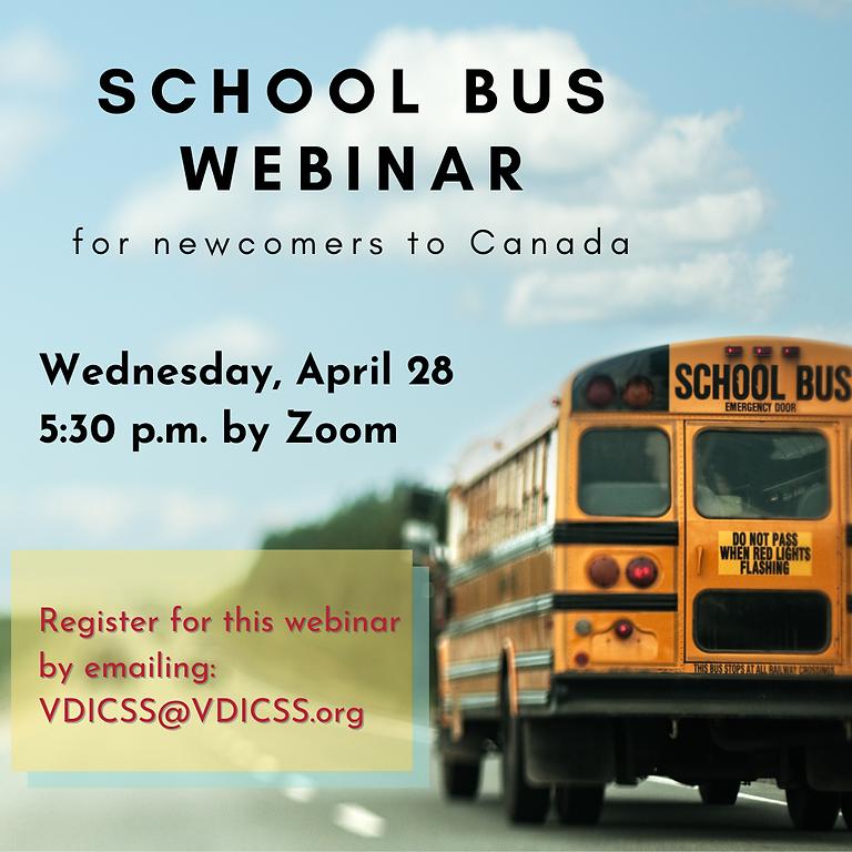 SD22 School Bus Webinar