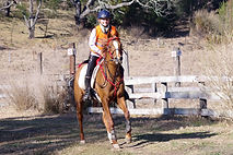Poppy Kettlewell riding Al Marah Heyho S