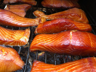 Smoked Salmon and Fireweed