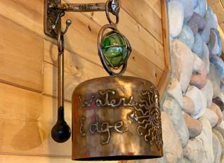 Bells and Honey-Mustard Walnut Crusted Salmon