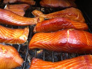 Smoked Salmon and Saying Good Bye