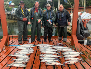 Aug 19th Fishing Update