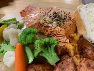Salmon & something Sweet