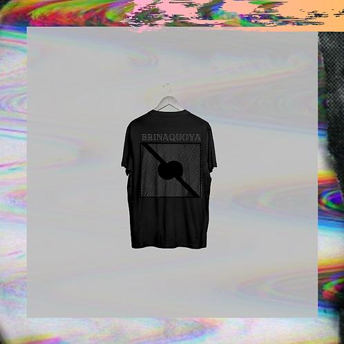 Camiseta Negra Logo Negro