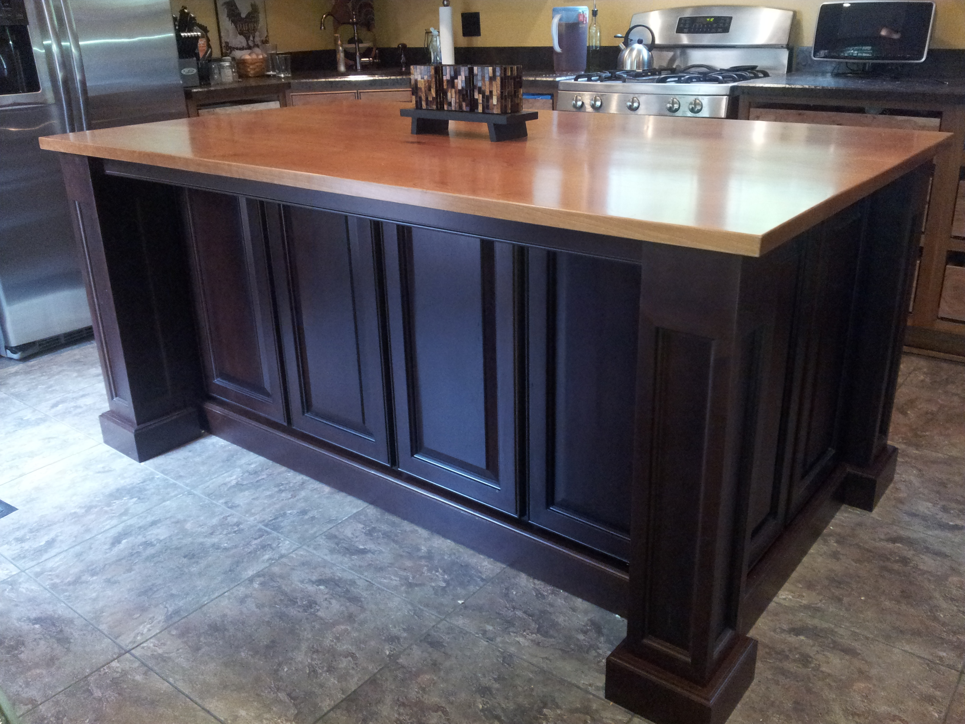 Ash Kitchen Island