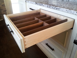 Evancic Drawer Walnut insert