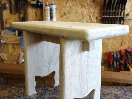 學木日誌:造自己的木凳