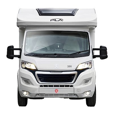 Quest Motorhome Hire Privilage 390 front