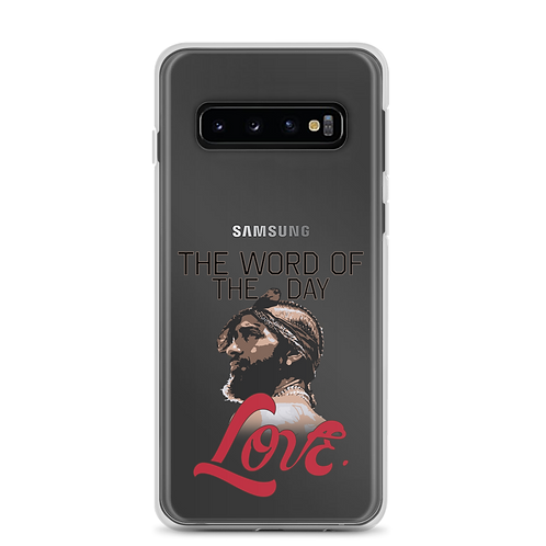 Word of The Day: Love Samsung Case Version 2