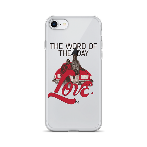 Word of The Day: Love iPhone Case