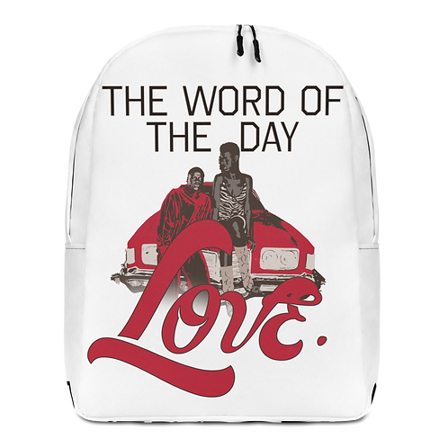 Word of The Day: Love- Backpack