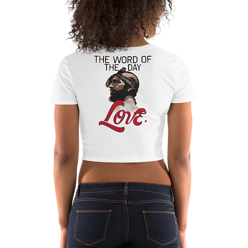 Word of The Day: Love- Crop Top