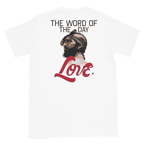 Word of The Day: Love T-shirt  Version 2