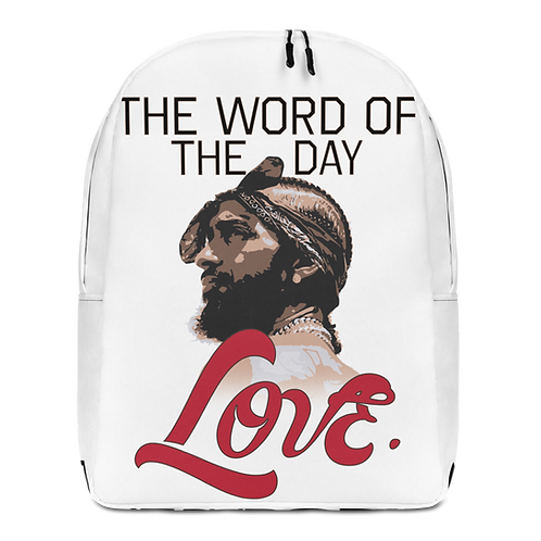 Word of The Day: Love- Backpack Version 2