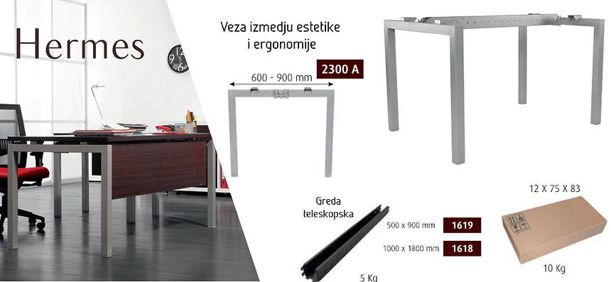 Rival Metal Srbija, Beograd, Noge za stolove, kancelarijski namestaj, kancelarijska oprema, collection New Smart Storage Exclusive Eco Club