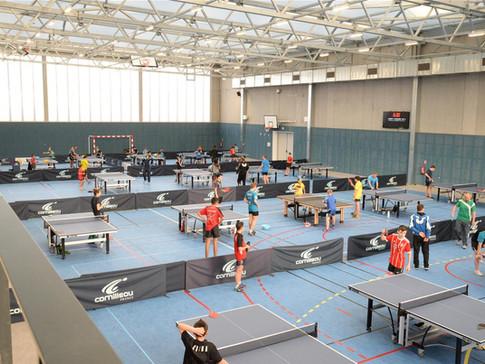 Photo d'ensemble d'un stage d'Istres Tennis de Table